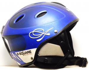 Lyžiarska prilba BAZÁR B-Square blue 48-50