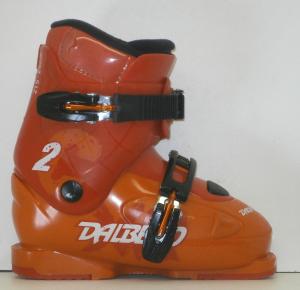 Detské lyžiarky BAZÁR Dalbello CXR 2 red/orange 215