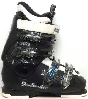 50004e0ca867 Dámske lyžiarky BAZÁR Dalbello Ivory Black 245