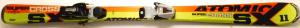 Detské lyže BAZÁR Atomic Supercross SX 11 130 cm