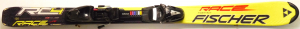 Detské lyže BAZÁR Fischer Race RC4 yellow/black 120cm
