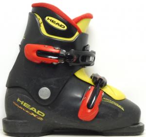 Detské lyžiarky BAZÁR Head Carve X2 black 195