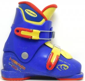 Detské lyžiarky BAZÁR Head Carve X2 blue 195