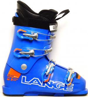 Detské lyžiarky BAZÁR Lange RS 60 RTL blue/orange 235