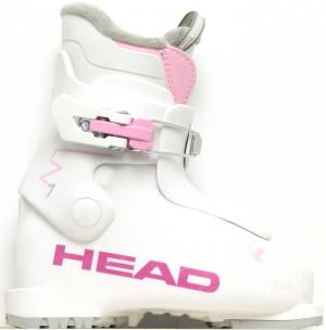 Detské lyžiarky BAZÁR Head Z1 white/pink 185