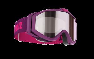 Detské lyžiarske okuliare Bliz Edge JR OTG Matt Magenta, Orange w silver