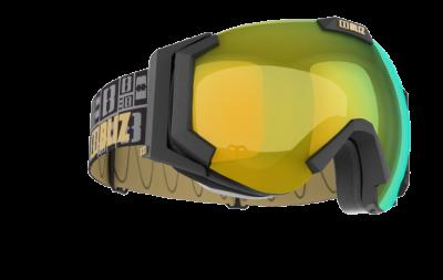 Lyžiarske okuliare Bliz Carver XT matt black, orange w gold