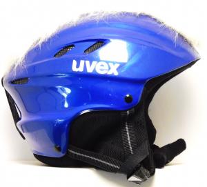Lyžiarska prilba BAZÁR Uvex punker blue/white 55-58