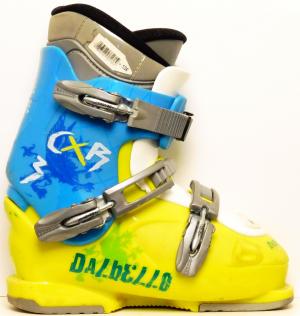Detské lyžiarky BAZÁR Dalbello CX 3 Sport green blue 235