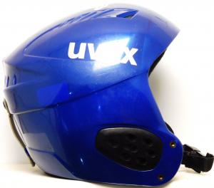 Lyžiarska prilba BAZÁR Uvex blue 53-54
