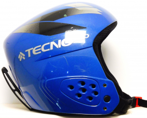 Lyžiarska prilba BAZÁR Tecno Pro Gara Baby racer blue 48-50