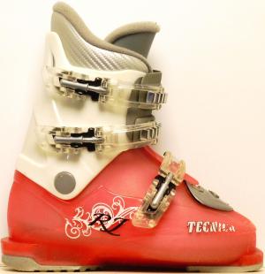 Detské lyžiarky BAZÁR Tecnica RJ pink/white 205