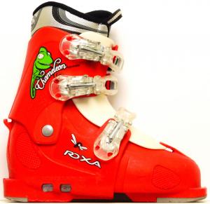 Detské lyžiarky BAZÁR Roxa Chameleon red 220-250 8edf47c98e8