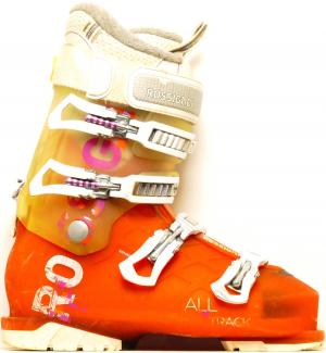 Dámske lyžiarky BAZÁR Rossignol All Track orange/white 265
