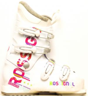 578122256 Detské lyžiarky BAZÁR ROSSIGNOL, detské lyžiarske topánky