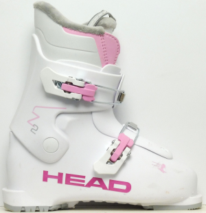 Detské lyžiarky BAZÁR Head Z2 white/pink 220