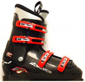 Detské lyžiarky BAZÁR Nordica GPTJ super black/red 240