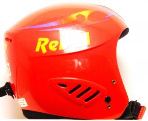Lyžiarska prilba BAZÁR Rebell Red 52