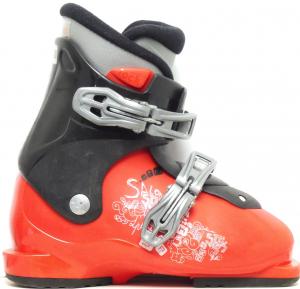 Detské lyžiarky BAZÁR Salomon SPK black/red 190