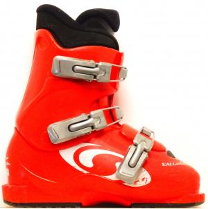 Detské lyžiarky BAZÁR Salomon Performa T3 red 235