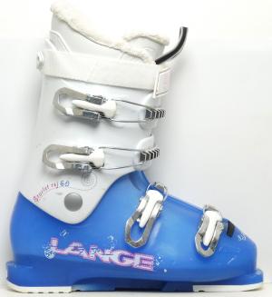 Detské lyžiarky BAZÁR Lange Starlet RSJ 60 blue/white 265