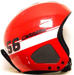 Lyžiarska prilba BAZÁR Carrera Thunder red 56 55-58