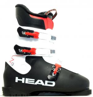 Detské lyžiarky BAZÁR Head Z3 Black/White 260