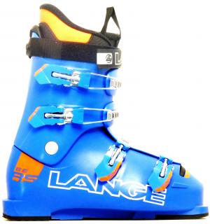 Detské lyžiarky BAZÁR Lange RSJ 65 blue/orange 265