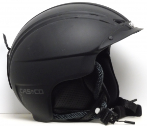 Lyžiarska prilba BAZÁR Casco Powder Black 56