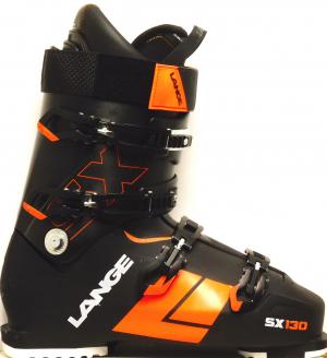Pánske lyžiarky BAZÁR Lange SX 130 black/orange 300
