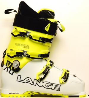 Pánske lyžiarky BAZÁR Lange XC 120 mineral wh/yellow 285