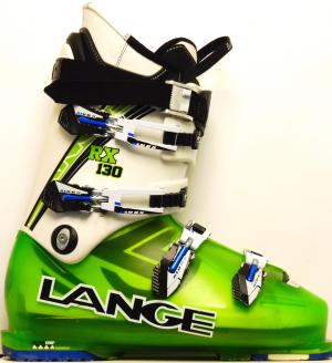 Pánske lyžiarky BAZÁR Lange RX 130 wh/green 300