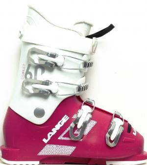 Detské lyžiarky BAZÁR Lange Starlet 60 magenta/white 265
