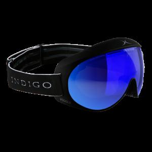 Lyžiarske okuliare Indigo Slim Voggle Mirror Blue-Black Strap