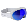 Lyžiarske okuliare Indigo Slim Voggle Mirror Blue-White Strap