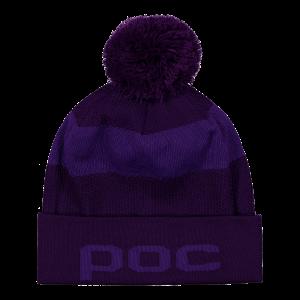 Lyžiarska čiapka POC Jaquard Beanie ametis purple/dark ametist purple