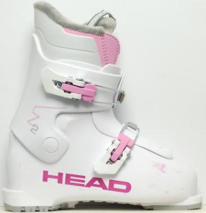 Detské lyžiarky BAZÁR Head Z2 white/pink 195