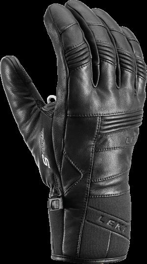 Lyžiarske rukavice Leki Progressive 8 S black