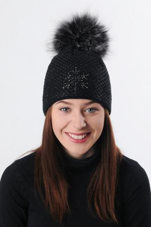 Lyžiarska čiapka R-JET FOR YOU Top Fashion Exclusive TF/EX_42 Čierna, čierny lurex