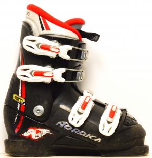 Detské lyžiarky BAZÁR Nordica GPTJ black 235