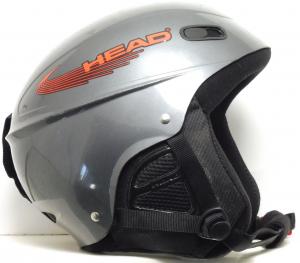 Lyžiarska prilba Head Rental grey M 57/58