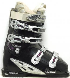 Dámske lyžiarky BAZÁR Head Edge +10.5 black/silver 250