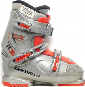 Detské lyžiarky BAZÁR Dalbello CX Equipe R3 silver 245