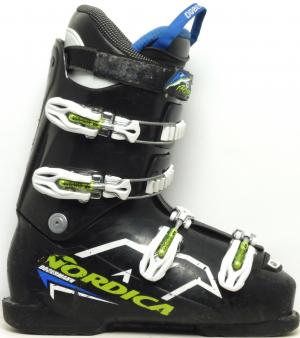 Detské lyžiarky BAZÁR Nordica Dobermann Team 60 black 265