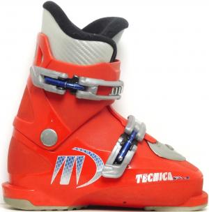 Detské lyžiarky BAZÁR Tecnica RJ red 195