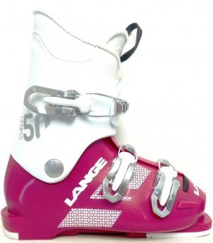 Detské lyžiarky BAZÁR Lange Starlet 50 magenta/white 185