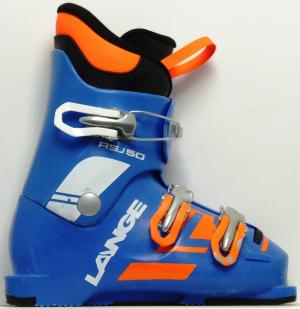 Detské lyžiarky BAZÁR Lange RSJ 50 blue/orange 205