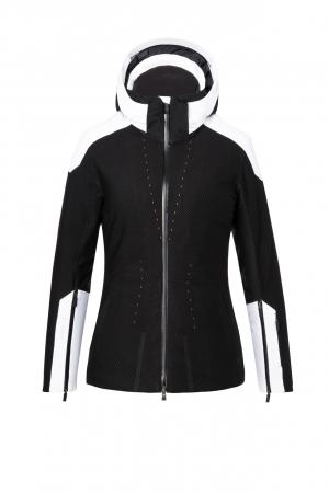 Lyžiarska bunda KJUS Women Freelite Jacket Black-White
