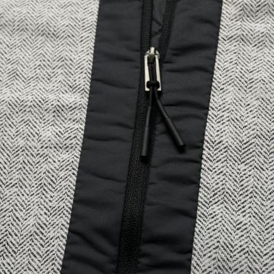 Lyžiarska flísová mikina KJUS Women Radun Midlayer Jacket White melange-Frozen Pink