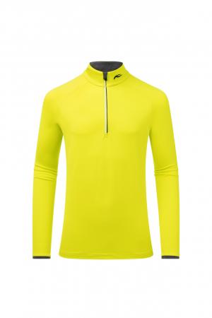 Funkčné oblečenie KJUS Men Feel Halfzip Citric Yellow